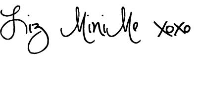 Liz MiniMe HugKisses