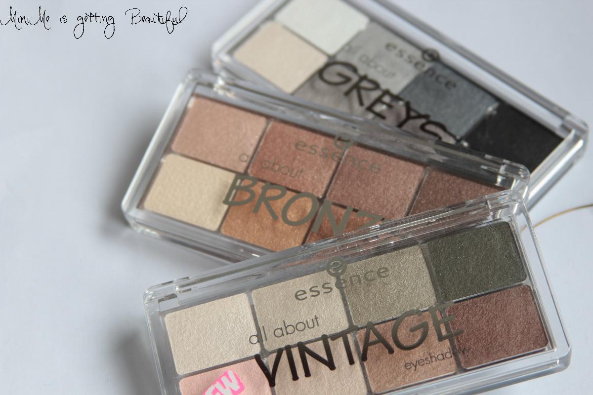 Essence Herbst 2015 Eyeshadow Paletten