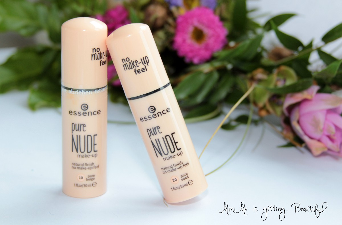 Essence Herbst 2015 pure Nude Make-up