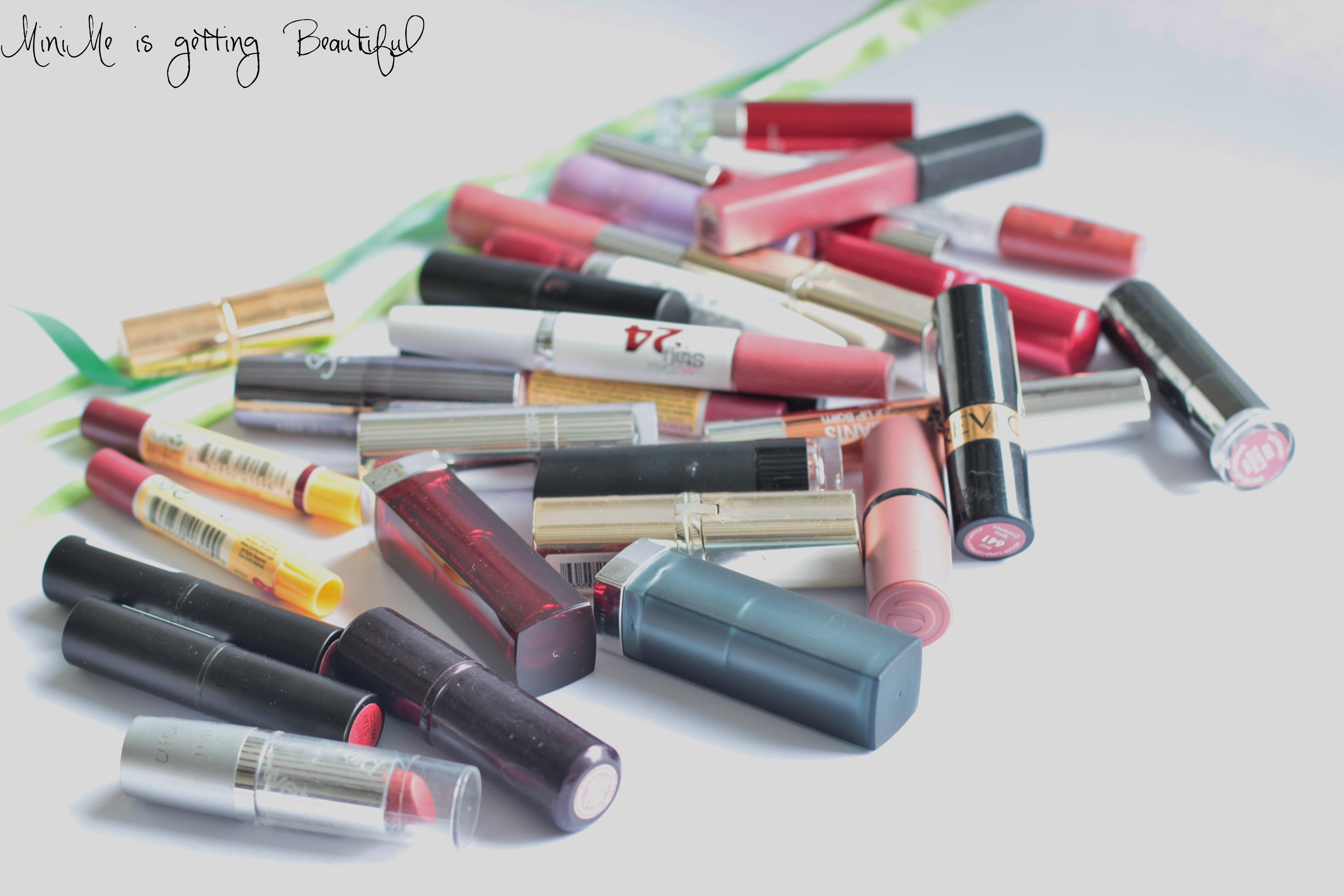 Wieviel für was Lippenstifte