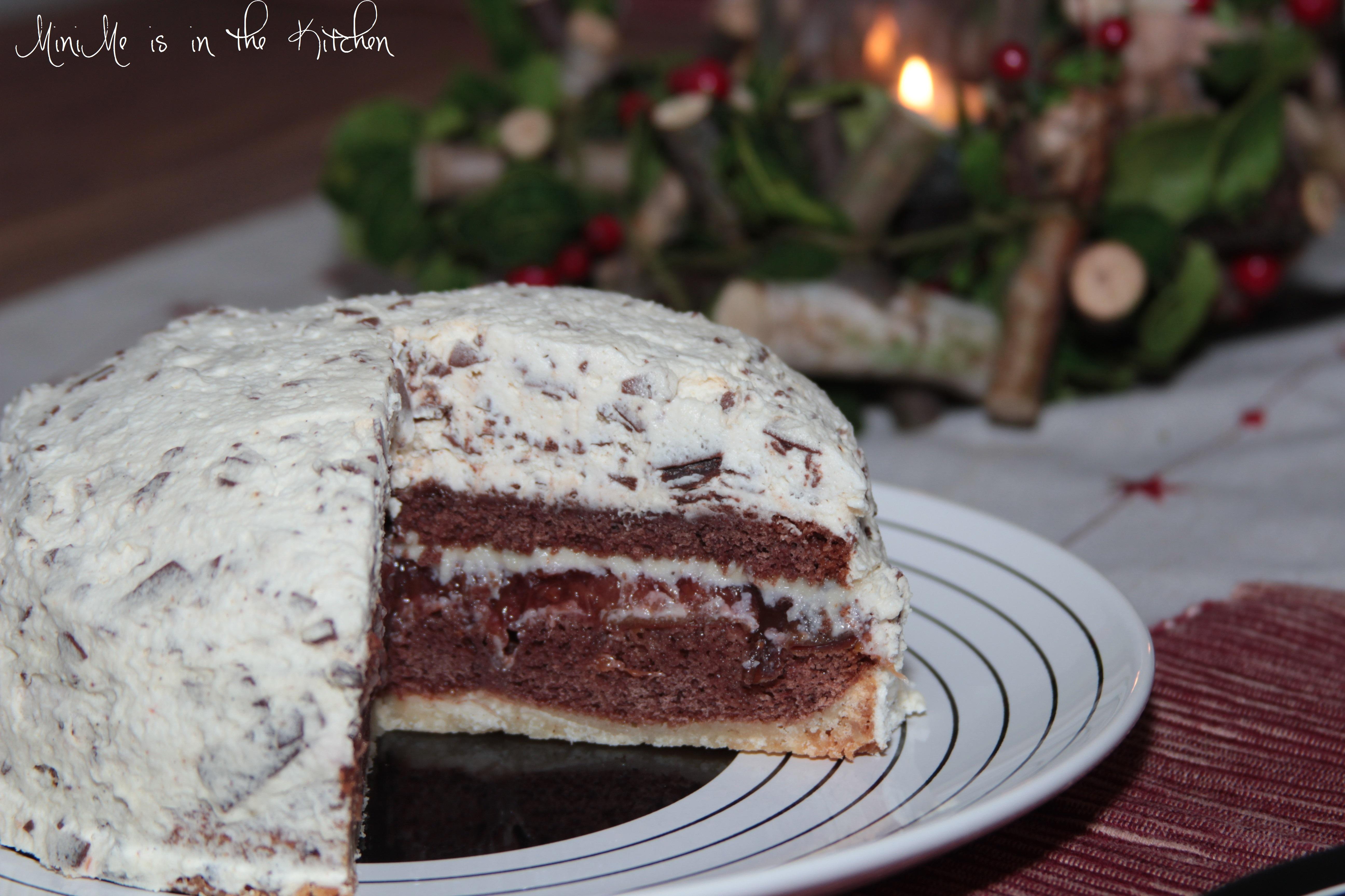 Schoko Pflaumen Kuchen Winterlich Und Nicht Alltaglich
