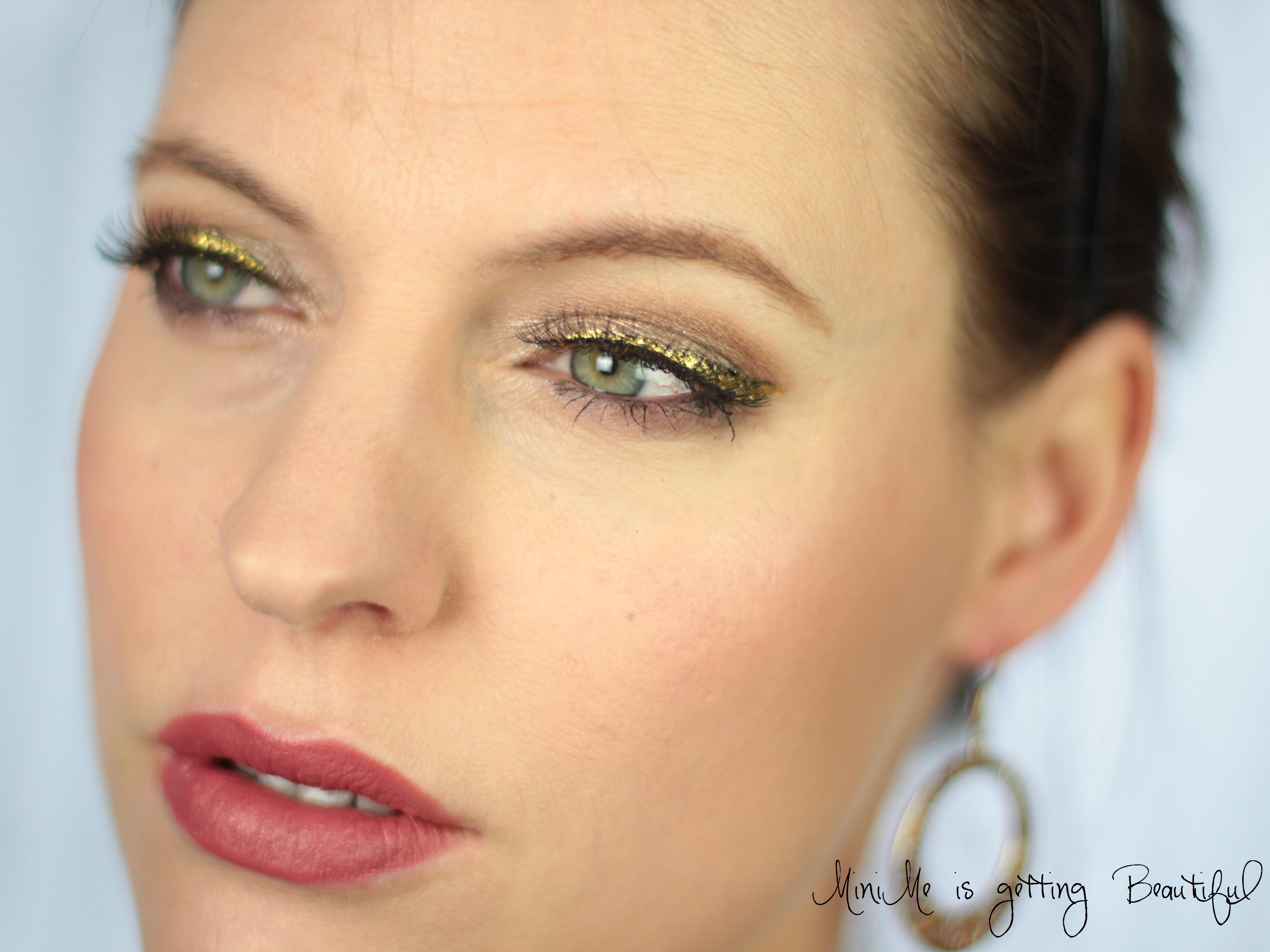 MiniMe is getting Beautiful Nachgeschminkt Glitter Eyeliner 1