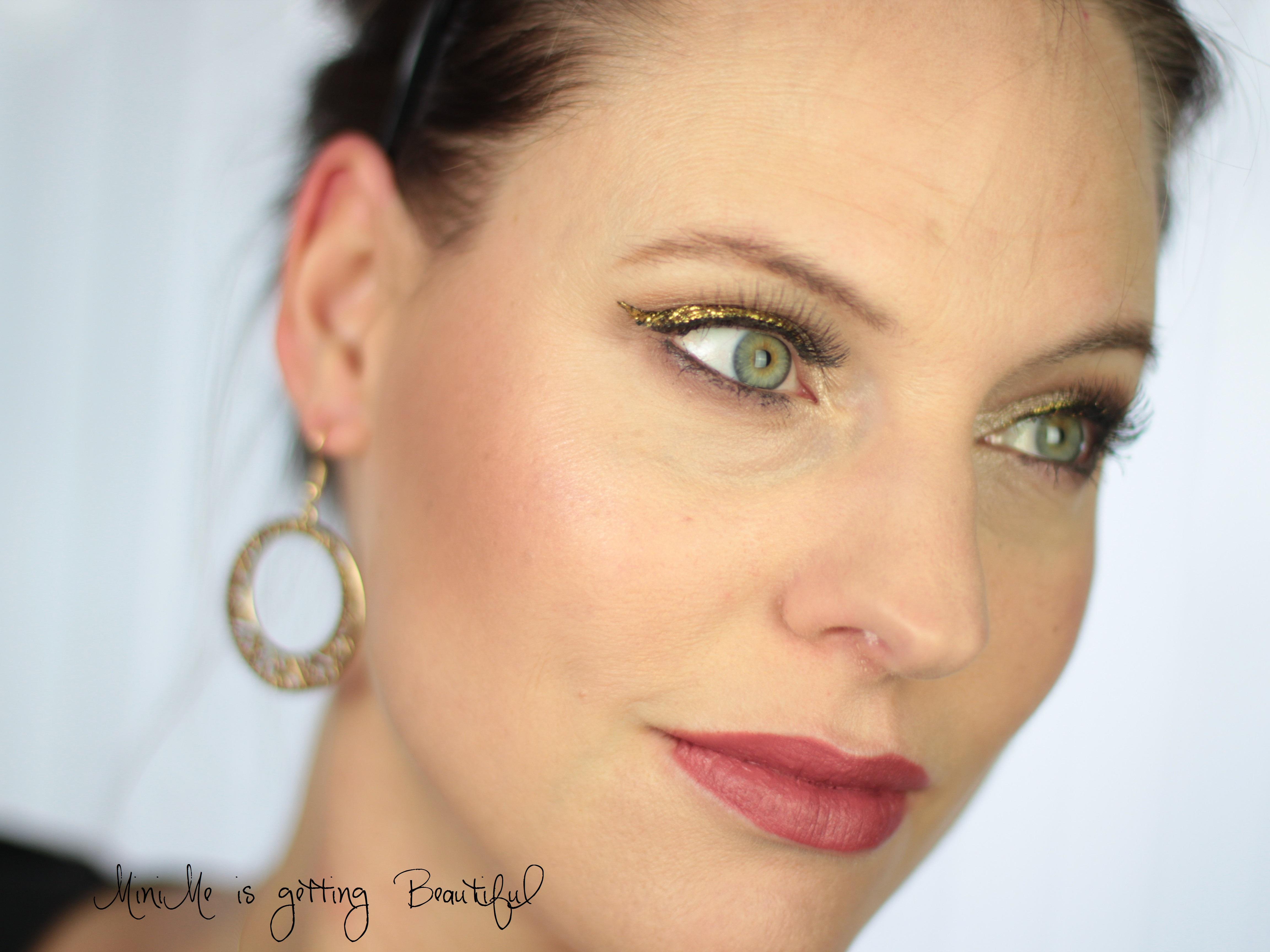 MiniMe is getting Beautiful Nachgeschminkt Glitter Eyeliner