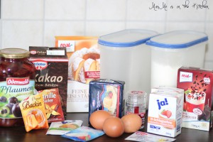 Schoko-Pflaumen-Kuchen