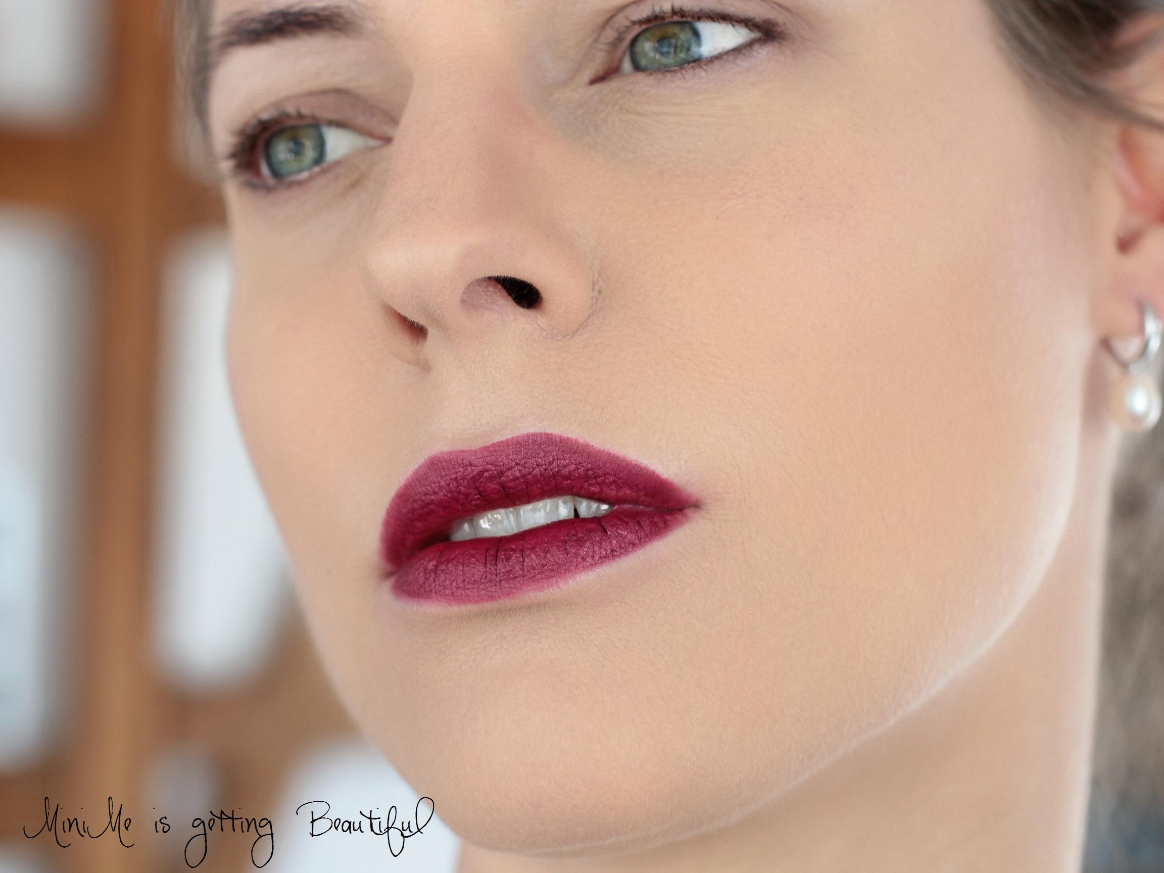 Nachgeschminkt Burberry Oxblood Signature Lip