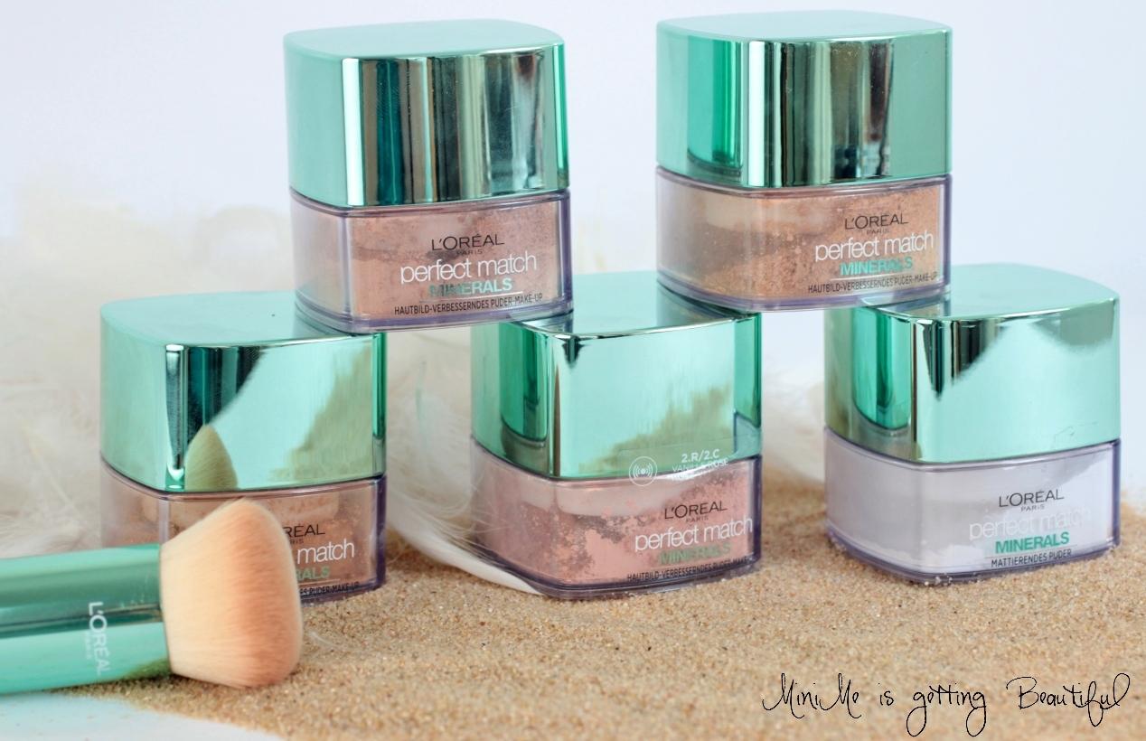 l or al minerals puder foundation review