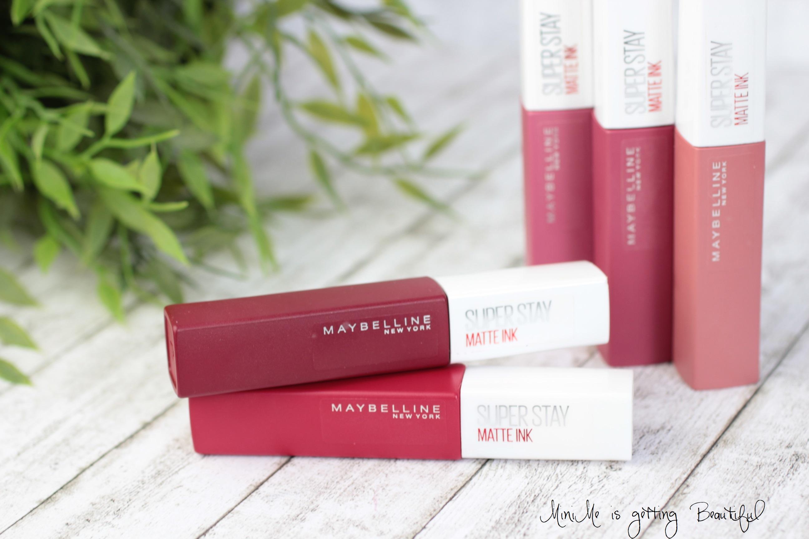 Wie Sind Die Neuen Maybelline Super Stay Matte Ink Lippenstifte